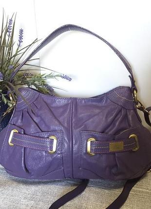 Аккуратная сумка кроссбоди из натуральной кожи