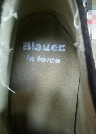 Новые мужские туфли blauer 42-437 фото