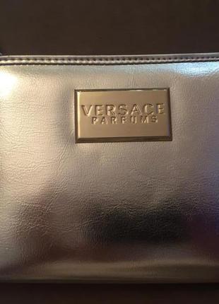 Золотой клатч versace