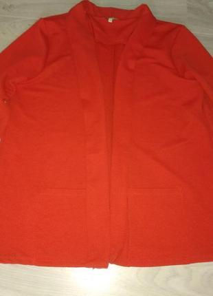 Фактурный пиджак/кардиган