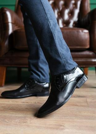 Натуральная кожа! мужские туфли классика4 фото