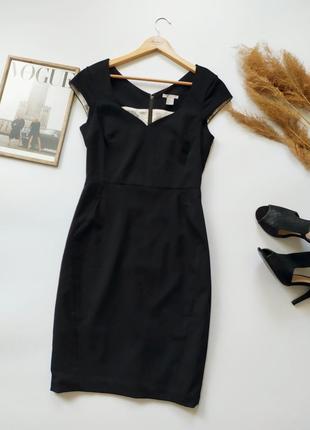 Шикарное силуэтное платье h&m