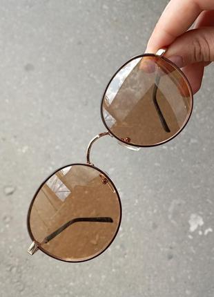Стильные круглые очки пантограф очки хамелеон polarized унисекс