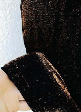 Нарядное вечернее коктейльное платье на бретели6 фото