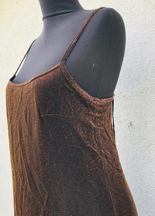 Нарядное вечернее коктейльное платье на бретели9 фото