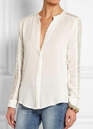 Блуза с кружевом h&m