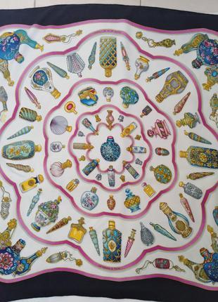 Винтажный коллекционный платок hermes, оригинал.