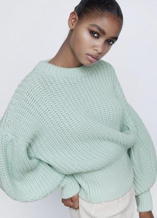 Zara шикарний жіночий светр