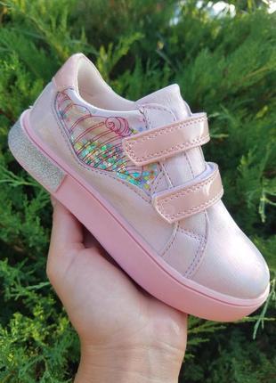 Слипоны туфли для девочки