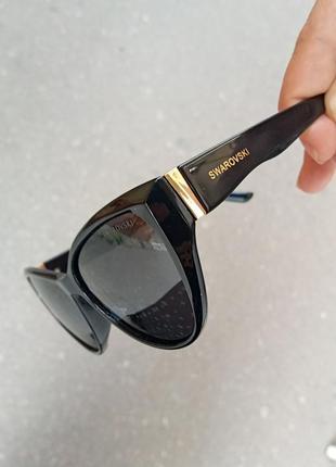 Стильные очки кошки очки лисички поляризация антиблик polarized swarovski9 фото