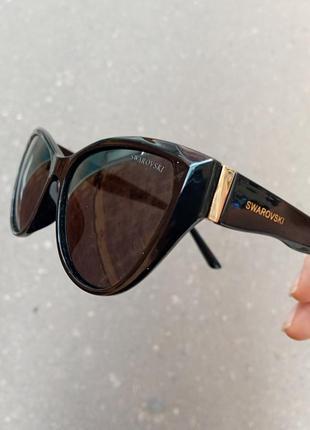 Стильные очки кошки очки лисички поляризация антиблик polarized swarovski2 фото