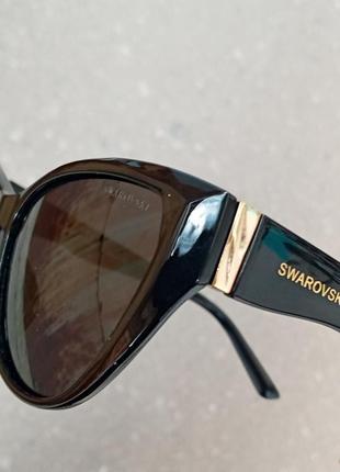 Стильные очки кошки очки лисички поляризация антиблик polarized swarovski5 фото