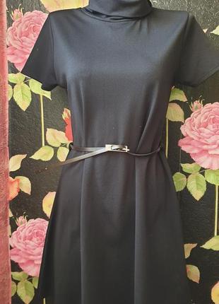 Черное платье р 40 42