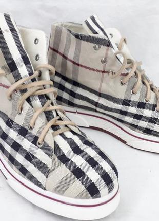 Кроссовки, кеды оригинал, burberry 37 размер.