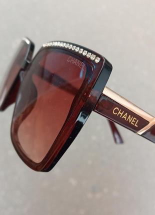 Стильные качественные актуальные итальянские очки со стразами очки с камнями итплия новинка