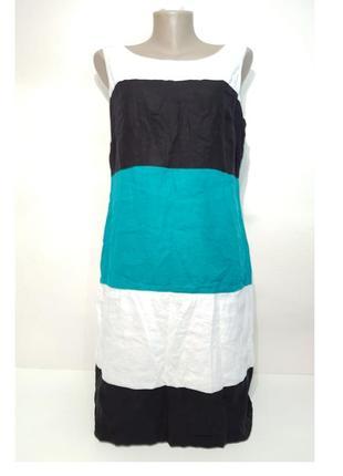 Изумительное платье marks&spenser натуральный лен