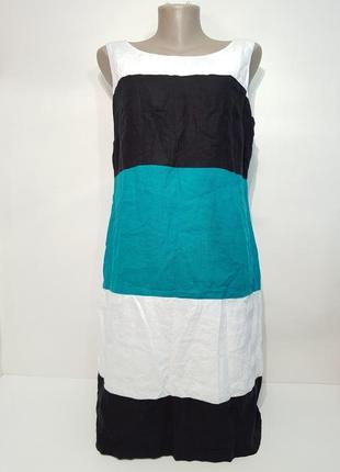 Изумительное платье marks&spenser натуральный лен2 фото