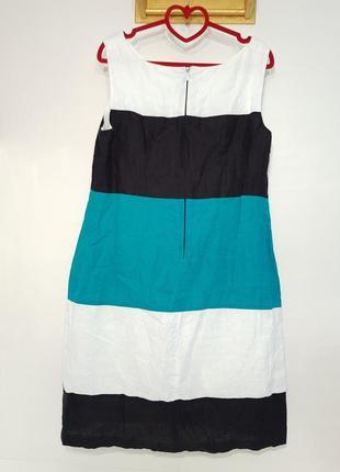 Изумительное платье marks&spenser натуральный лен4 фото