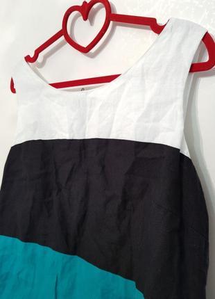 Изумительное платье marks&spenser натуральный лен5 фото