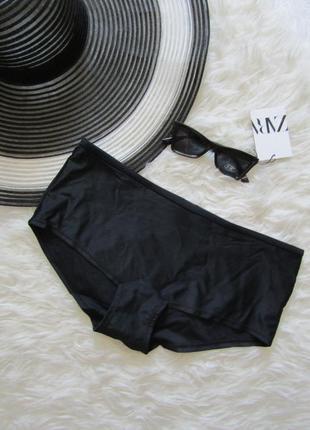 Базовые черные плавки шортики  от купальника panache размер  12/m