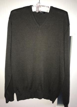 Джемпер , пуловер , свитер commander р l-xl 50-52 100% merino