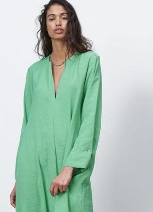 Лёгкое платье zara