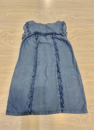 Платье джинсовое zara зара