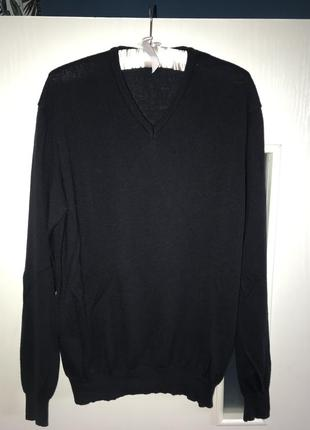 Свитер , джемпер , пуловер 100% reine schurwolle р 50-52 l-xl
