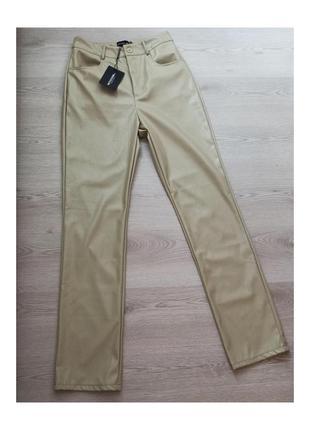 Кожаные брюки, штаны, штани з екошкіри, штаны с экокожи