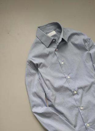 Мужская серая оригинальная рубашка prada в клетку