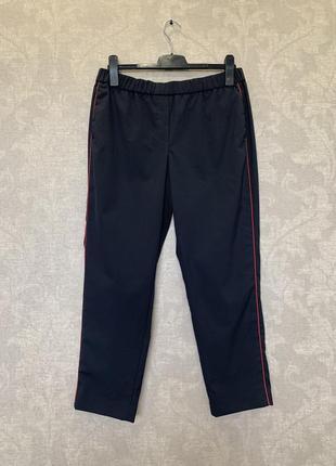 Брюки штаны с лампасами премиум бренд peserico италия.