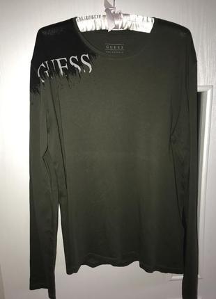Кофта , футболка с длинным рукавом guess р xl 50-52