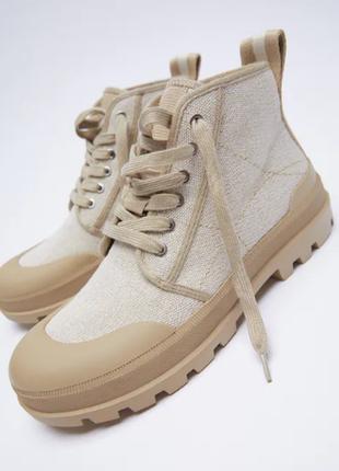 Кеды кроссовки ботинки zara