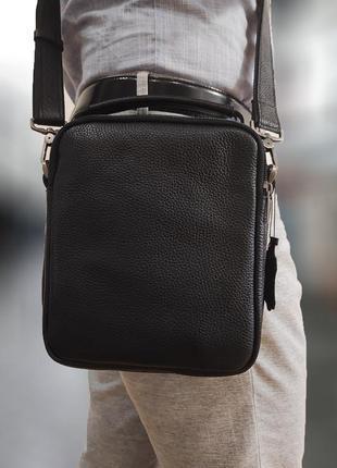 Мужская сумка из натуральной кожи