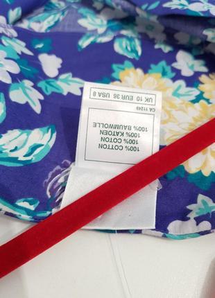 Изумительное дизайнерское винтажное платье laura ashley хлопок в стиле прованс4 фото