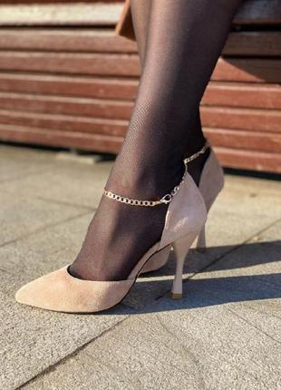 Туфли модель 1010-4/9535 беж
