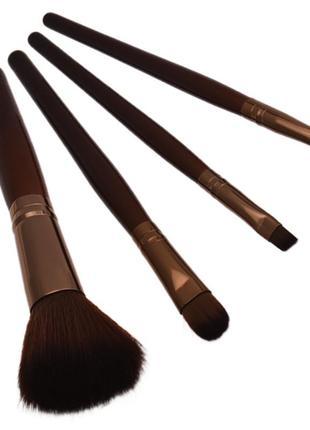 Кисти для макияжа, набор кистей 4 шт