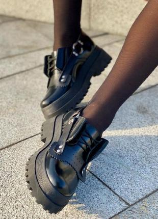 Туфли модель 155 черные
