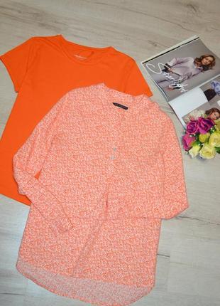 Блуза в цветочный принт вискоза