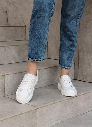 Женские кожаные кеды. обувь от производителя!