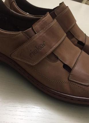 Чоловічі туфлі- босоніжки