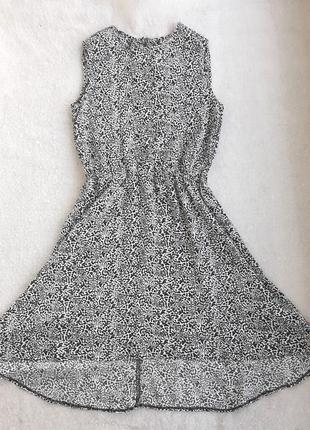 Платье шлейф вискоза, длина 104 см.