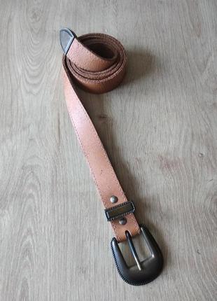 Стильный женский кожаный ремень германия, р.80