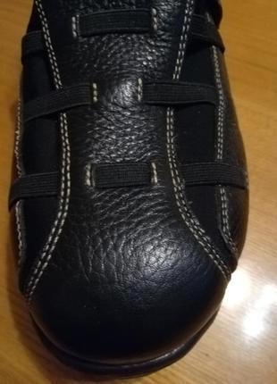 Женские кожаные ортопедические туфли6 фото