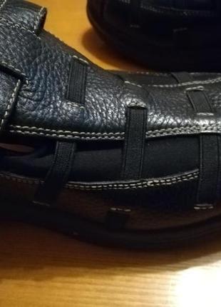 Женские кожаные ортопедические туфли3 фото