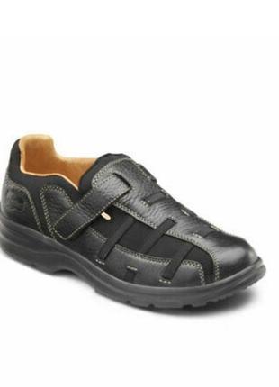 Женские кожаные ортопедические туфли