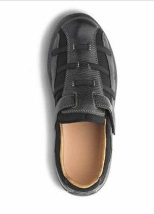 Женские кожаные ортопедические туфли2 фото