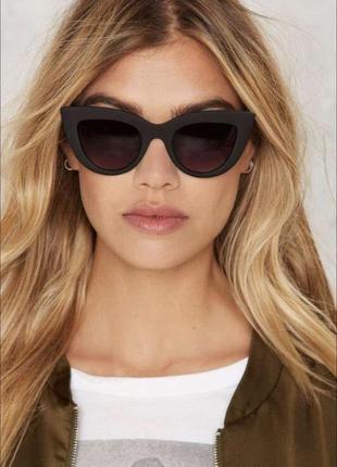 Окуляри очки сонцезахисні чорні
