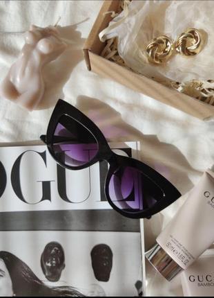 Окуляри сонцезахисні очки чорні