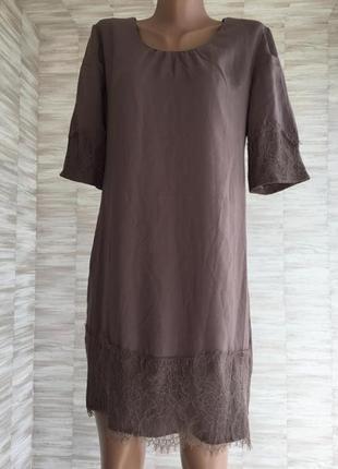 Платье лёгкое с кружевом saint tropez
